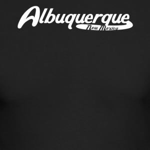 Albuquerque New Mexico Vintage Logo - Men's Long Sleeve T-Shirt by Next Level