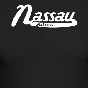 Nassau Bahamas Vintage Logo - Men's Long Sleeve T-Shirt by Next Level