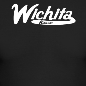 Wichita Kansas Vintage Logo - Men's Long Sleeve T-Shirt by Next Level