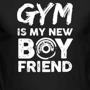GYM IS MY NEW BOYFRIEND - Men's Long Sleeve T-Shirt by Next Level