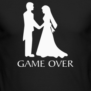 Game Over Wedding - Men's Long Sleeve T-Shirt by Next Level