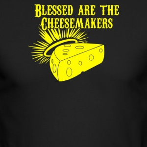 Blessed Are the Cheesemakers - Men's Long Sleeve T-Shirt by Next Level