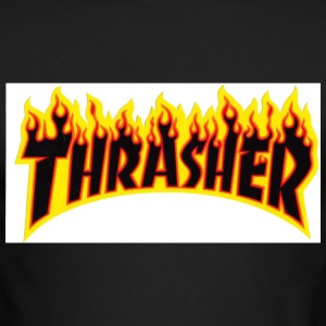 Thrasher flame - Men's Long Sleeve T-Shirt by Next Level