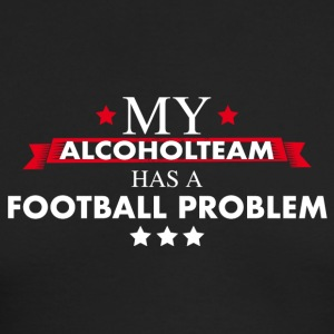 Alcohol team football - Men's Long Sleeve T-Shirt by Next Level
