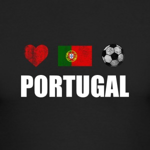 Portugal Football Portuguese Soccer T-shirt - Men's Long Sleeve T-Shirt by Next Level
