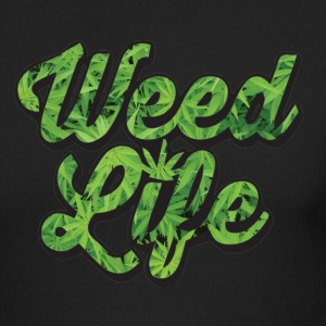 weedlife - Men's Long Sleeve T-Shirt by Next Level