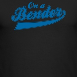On A Bender - Men's Long Sleeve T-Shirt by Next Level