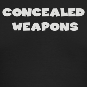 Concealed Weapons - Men's Long Sleeve T-Shirt by Next Level