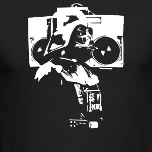 Darth Vader With Boom Box - Men's Long Sleeve T-Shirt by Next Level