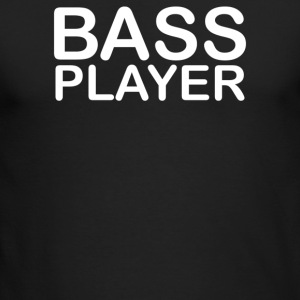 Bass player - Men's Long Sleeve T-Shirt by Next Level