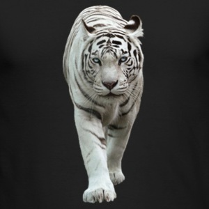 White Tiger - Men's Long Sleeve T-Shirt by Next Level