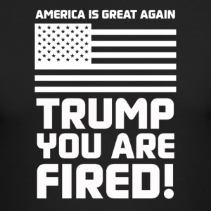 Trump you are fired! - Men's Long Sleeve T-Shirt by Next Level
