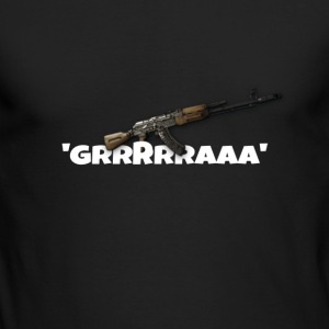 Ak47 GRRRRAAA Design - Men's Long Sleeve T-Shirt by Next Level
