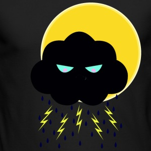 Angry Nimbus under Sun - Men's Long Sleeve T-Shirt by Next Level
