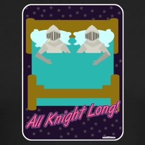 All Knight Long - Men's Long Sleeve T-Shirt by Next Level