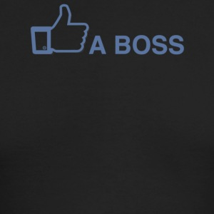 Like A Boss - Men's Long Sleeve T-Shirt by Next Level