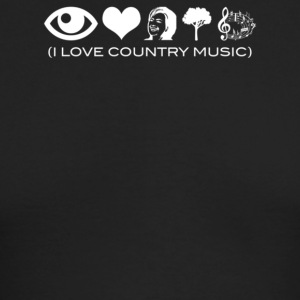 I Love Country Music - Men's Long Sleeve T-Shirt by Next Level