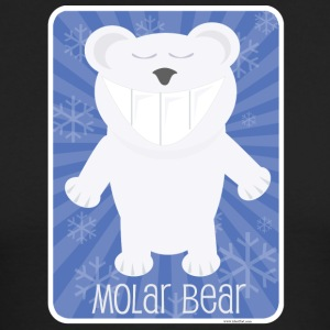The Molar Bear - Men's Long Sleeve T-Shirt by Next Level