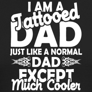 Tattooed dad - Men's Long Sleeve T-Shirt by Next Level