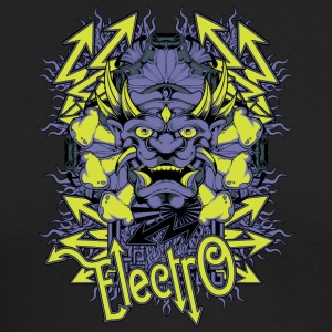 electro demon - Men's Long Sleeve T-Shirt by Next Level