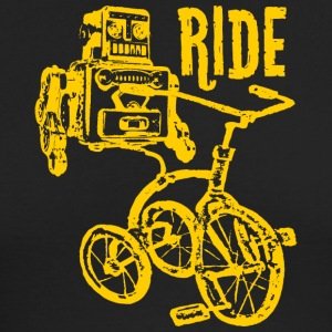 Trike Bot T Shirt - Men's Long Sleeve T-Shirt by Next Level