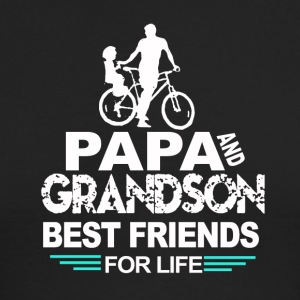 Papa and grandson - Men's Long Sleeve T-Shirt by Next Level