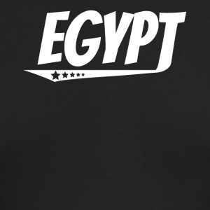 Egypt Retro Comic Book Style Logo Egyptian - Men's Long Sleeve T-Shirt by Next Level