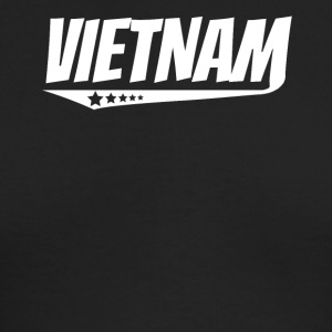 Vietnam Retro Comic Book Style Logo Vietnamese - Men's Long Sleeve T-Shirt by Next Level
