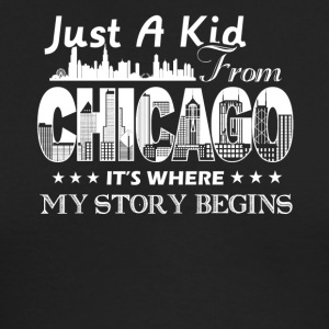 Chicago Shirt - Men's Long Sleeve T-Shirt by Next Level