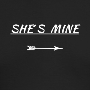 she´s mine - Men's Long Sleeve T-Shirt by Next Level