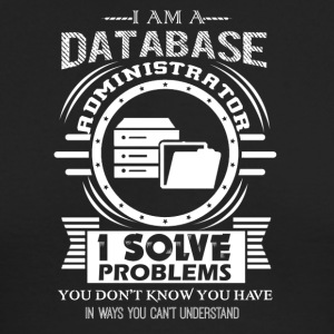 Database Administrator Shirts - Men's Long Sleeve T-Shirt by Next Level