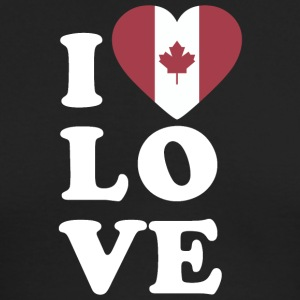 I love Canada - Men's Long Sleeve T-Shirt by Next Level