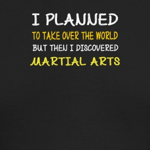 Funny Martial Arts Design-I Planned to Take Over - Men's Long Sleeve T-Shirt by Next Level