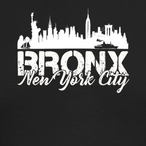 Bronx New York City Shirt - Men's Long Sleeve T-Shirt by Next Level
