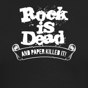 Rock Is Dead and Paper Killed It - Men's Long Sleeve T-Shirt by Next Level