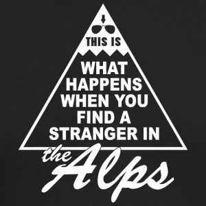Stranger in the Alps - Men's Long Sleeve T-Shirt by Next Level