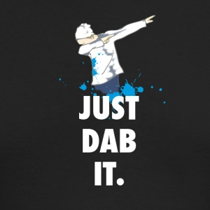 dab just dabbing football touchdown mooving dance - Men's Long Sleeve T-Shirt by Next Level