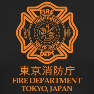 TOKYO FIRE DEPARTMENT - Men's Long Sleeve T-Shirt by Next Level
