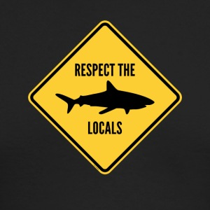 Respect The Locals - Men's Long Sleeve T-Shirt by Next Level