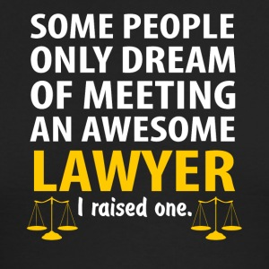 Awesome Lawyer, I Raise One. Lawyer Mom - Men's Long Sleeve T-Shirt by Next Level