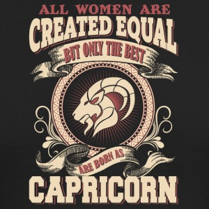 The Luckiest Women Are Born As Capricorn - Men's Long Sleeve T-Shirt by Next Level