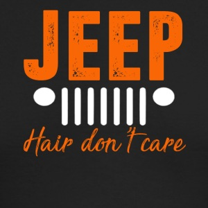 Jeep Hair Don't Care T-shirt - Men's Long Sleeve T-Shirt by Next Level