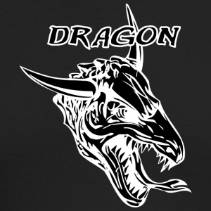 dragon_with_bull_horn_black - Men's Long Sleeve T-Shirt by Next Level