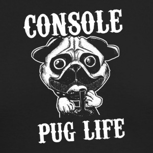 Console pug life - Men's Long Sleeve T-Shirt by Next Level