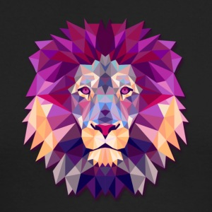 Lion Abstract - Men's Long Sleeve T-Shirt by Next Level