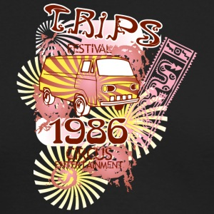 trips festival - Men's Long Sleeve T-Shirt by Next Level