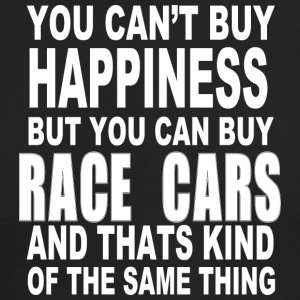 Race car happiness - Men's Long Sleeve T-Shirt by Next Level