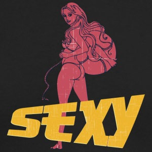 sexy_hot_ass_girl_vintage - Men's Long Sleeve T-Shirt by Next Level