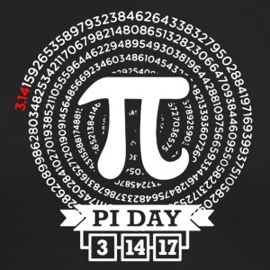 Pi Day 2017 Tee Shirt - Men's Long Sleeve T-Shirt by Next Level