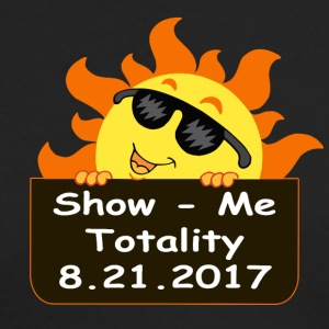 Show Me Totality - Missouri Eclipse - Men's Long Sleeve T-Shirt by Next Level